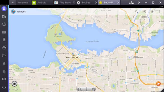 Open the Fake GPS Pro app