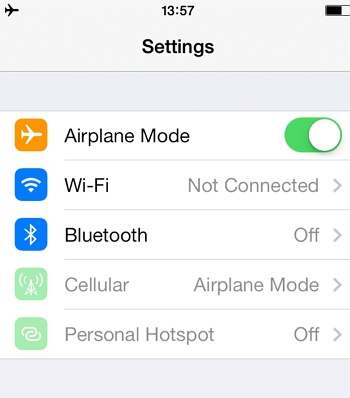 Turn on Airplane Mode to Stop Life360 Tracking