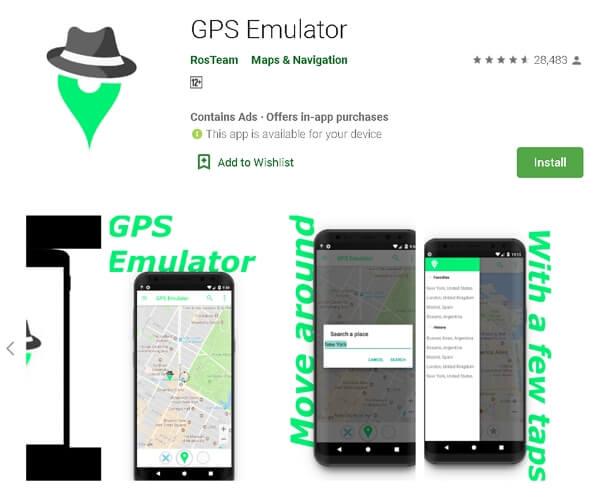 GPS Emulator – RosTeam