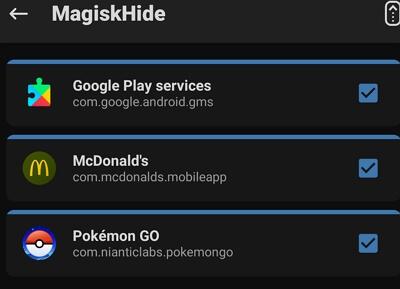 Put a Check on the Pokémon GO app