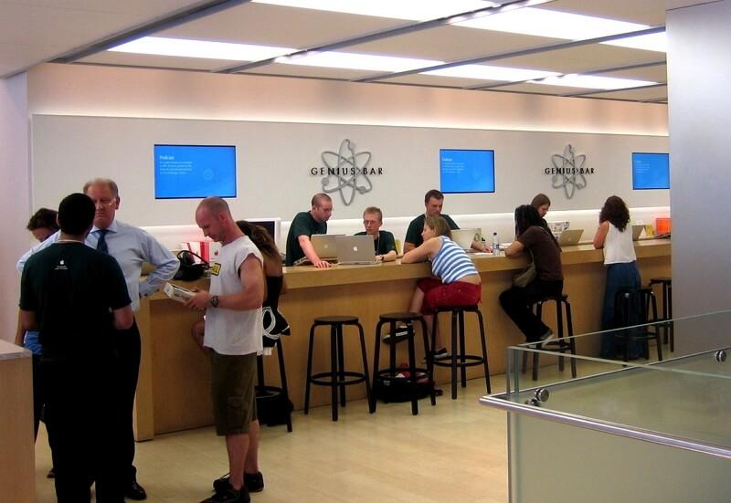 visit Apple Genius Bar