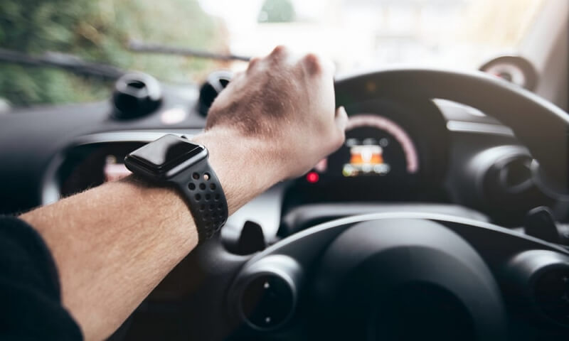 Bypass the Driving Lockout using Apple Watch