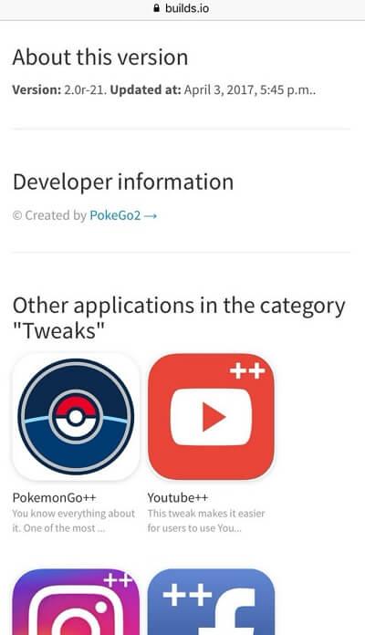 install pokemon on BuildStore