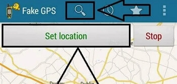 look for the location you would like to use