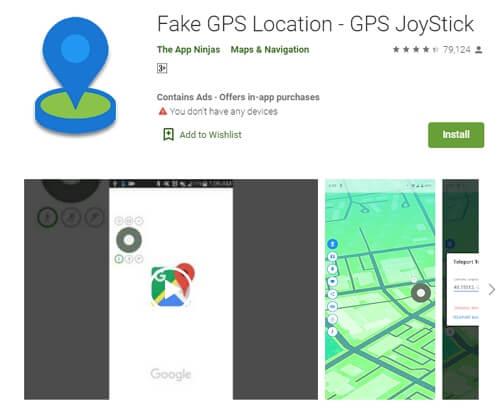 Fake GPS Walking for Android Via Fake GPS Location - GPS Joystick