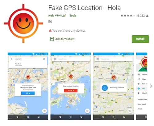 Fake GPS by Hola