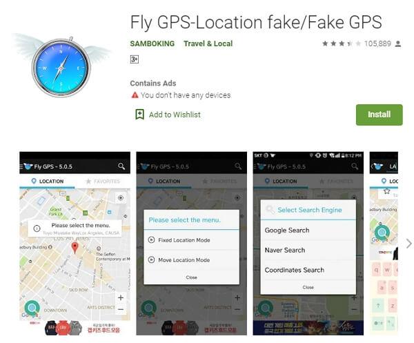 install Fly GPS