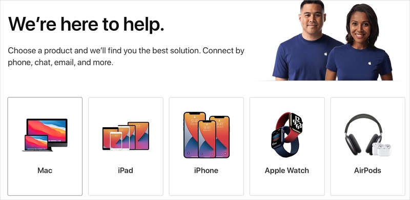 Visit the Apple Store