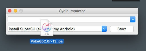 Install Poke Go ++ via Cydia Impactor