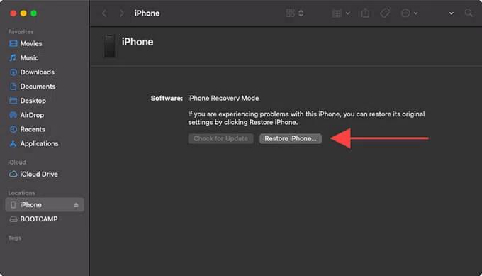 Put Your iPhone XR In DFU Mode