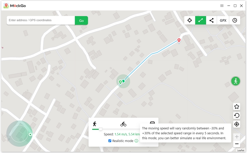 MockGo iOS GPS Spoofer