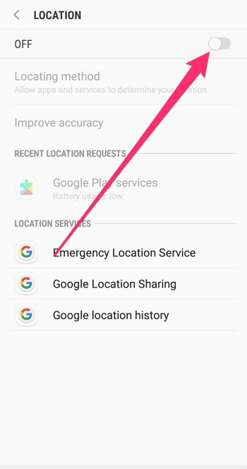 Disable GPS  before Launching Pokémon Go  Android
