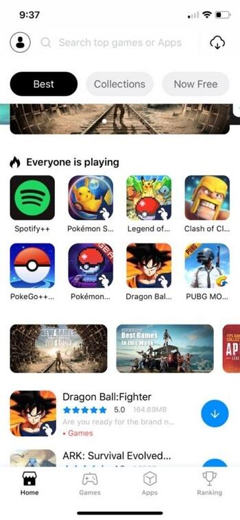 TUTUApp Pokemon GO iOS